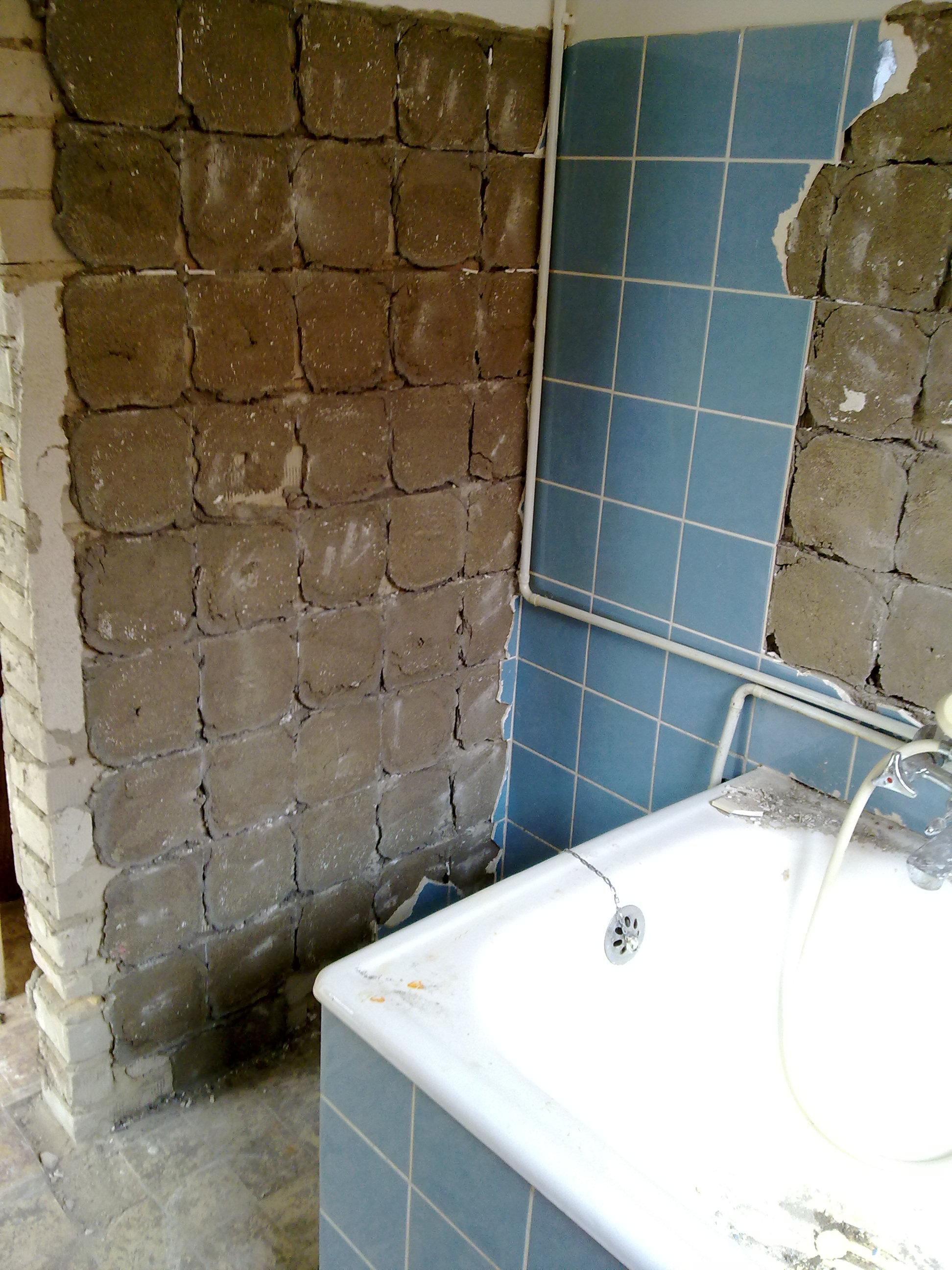 bad | total verputzt., Badezimmer ideen